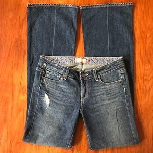 Paige Denim Bootcut Laurel Canyon Jeans SZ 31